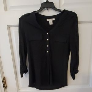 Black Top w Long Sleeves